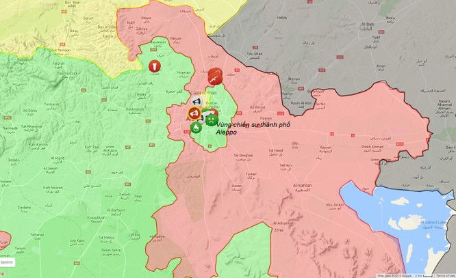 Quân đội Syria huyết chiến với phiến quân ở Aleppo ảnh 1
