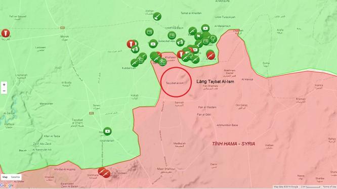 Al Qaeda Syria và Quân đội Syria Tự do đánh chiếm 2 vị trí trên vùng nông thôn miền Bắc tỉnh Hama, Syria ảnh 1