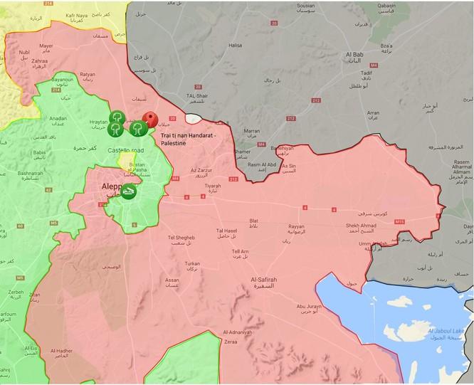 Quân đội Syria đánh chiếm trại tị nạn ở tử địa Aleppo ảnh 1
