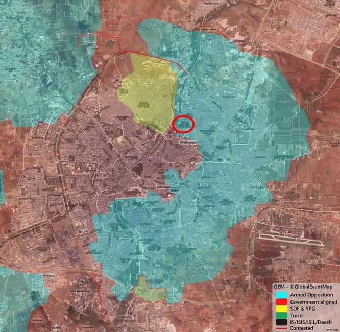 Chiến sự Syria: Hàng ngàn phiến quân Hồi giáo tử chiến ở Aleppo ảnh 1