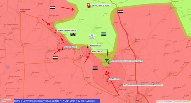 Video chiến sự Syria: Quân chính phủ đập tan tuyến phòng ngự khủng bố ảnh 1