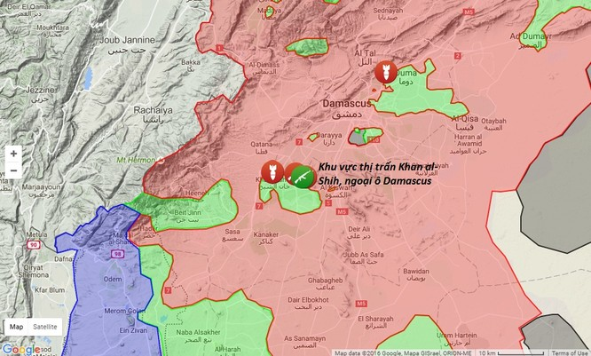 Quân đội Syria tấn công dữ dội, tiêu diệt hai thủ lĩnh phiến quân ảnh 1