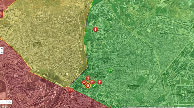 Chiến sự Syria: Quân chính phủ ào ạt đánh chiếm phía Đông Aleppo ảnh 1