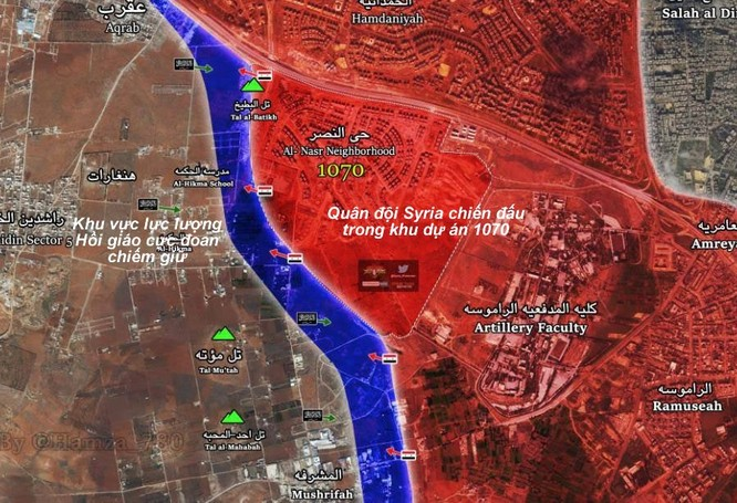 Chiến sự Syria: Ác liệt chiến tranh đường phố ở chảo lửa Aleppo ảnh 1