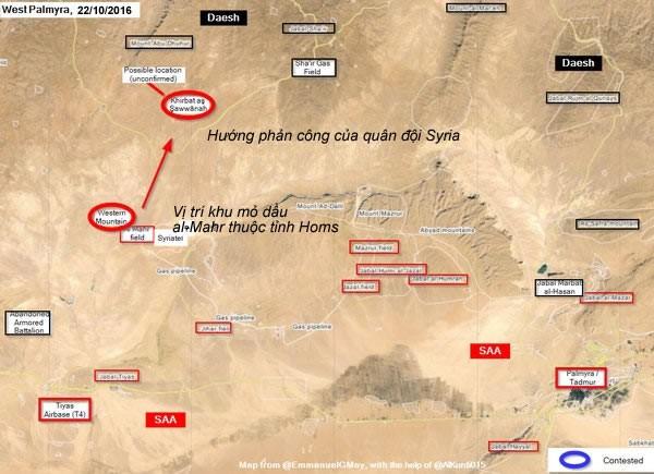 Quân đội Syria bẻ gãy cuộc tấn công dữ dội của IS ảnh 1