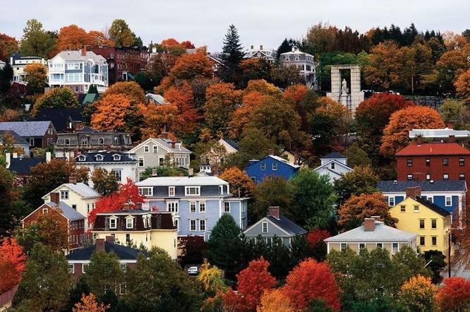Tuyệt đẹp cảnh sắc mùa thu trên khắp nước Mỹ ảnh 42