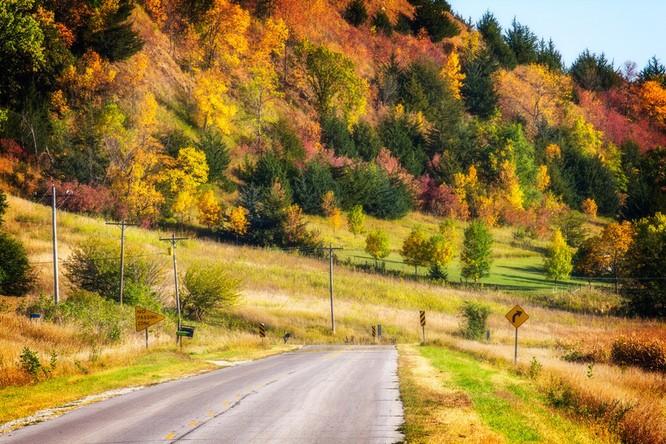 Tuyệt đẹp cảnh sắc mùa thu trên khắp nước Mỹ ảnh 2
