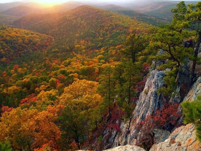 Tuyệt đẹp cảnh sắc mùa thu trên khắp nước Mỹ ảnh 6