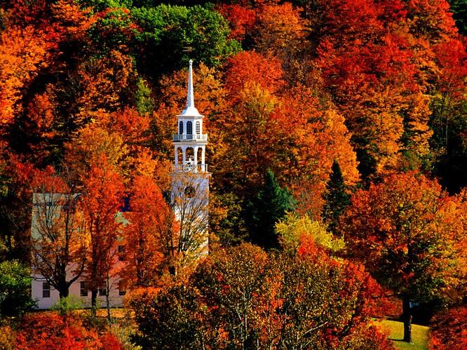 Tuyệt đẹp cảnh sắc mùa thu trên khắp nước Mỹ ảnh 9