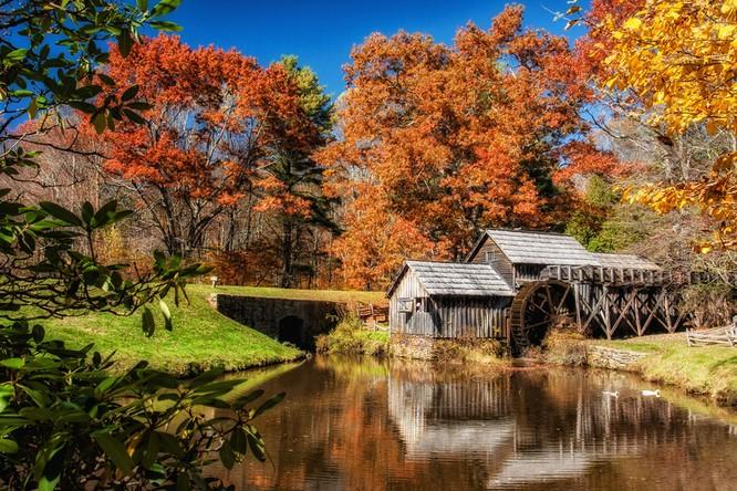 Tuyệt đẹp cảnh sắc mùa thu trên khắp nước Mỹ ảnh 10
