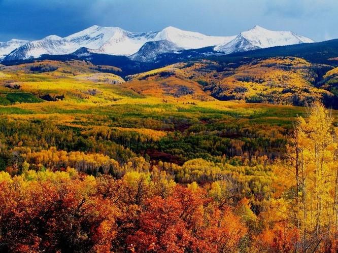 Tuyệt đẹp cảnh sắc mùa thu trên khắp nước Mỹ ảnh 21