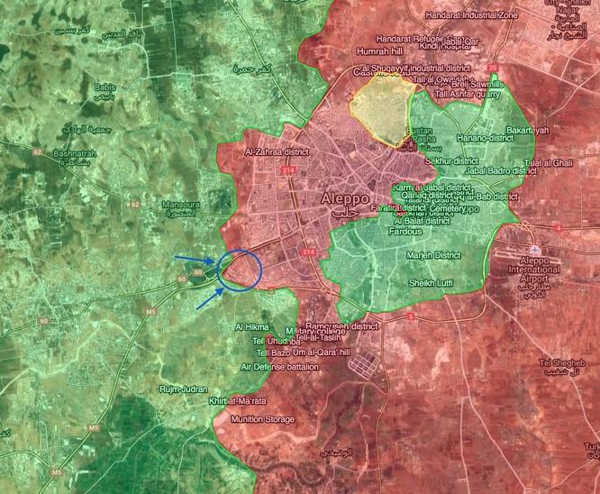 Video: Hàng ngàn quân thánh chiến liều chết phá vây Aleppo ảnh 1