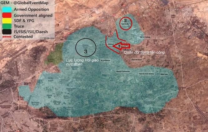 Vệ binh Syria phục kích, diệt gọn đoàn xe tiếp viện phiến quân ảnh 1