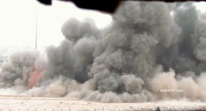 Quân đội Syria hủy diệt trung tâm khủng bố ở ngoại ô Damascus ảnh 3