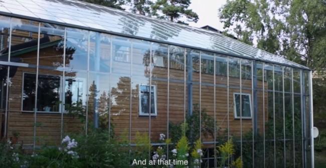 Lạ: Ngôi nhà mùa hè giữa ở không gian lạnh giá (video) ảnh 2