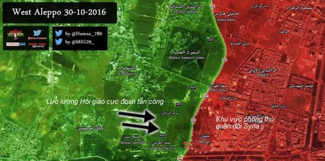 Quân đội Syria giành lại được một quận phía Tây Aleppo - VIDEO ảnh 1