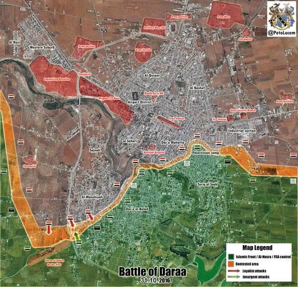 Quân đội Syria tấn công ác liệt, diệt hàng loạt tay súng thánh chiến ở Daraa ảnh 1