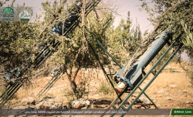 Lực lượng Hồi giáo cực đoan pháo kích man rợ hủy diệt khu vực Tây Aleppo ảnh 1