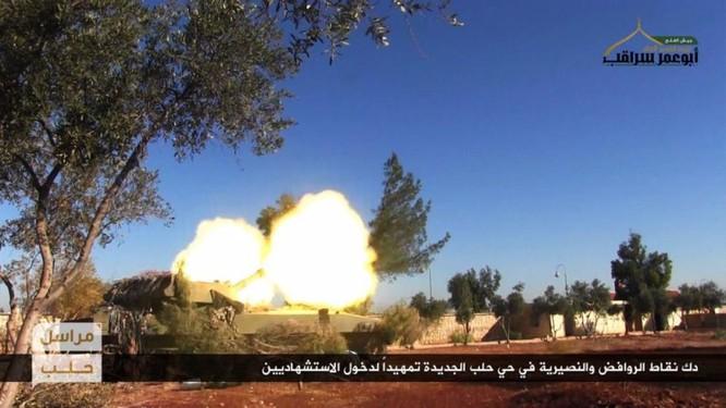 Lực lượng Hồi giáo cực đoan pháo kích man rợ hủy diệt khu vực Tây Aleppo ảnh 3