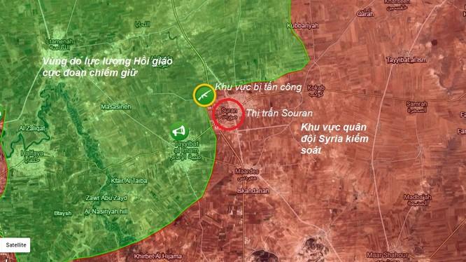 Phiến quân Hồi giáo tấn công quân đội Syria ở Hama ảnh 1