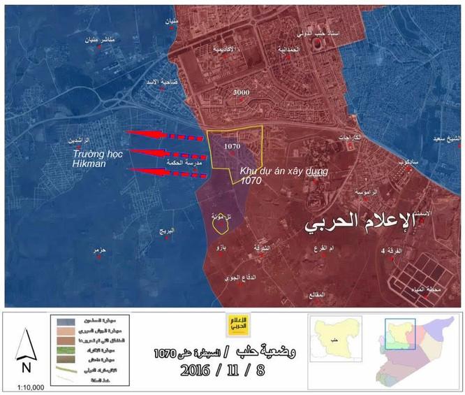 Quân đội Syria giải phóng địa bàn chiến lược ở Aleppo ảnh 1