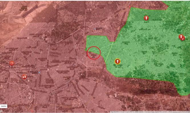 Phiến quân Syria lại bị chôn sống dưới đường hầm ảnh 1