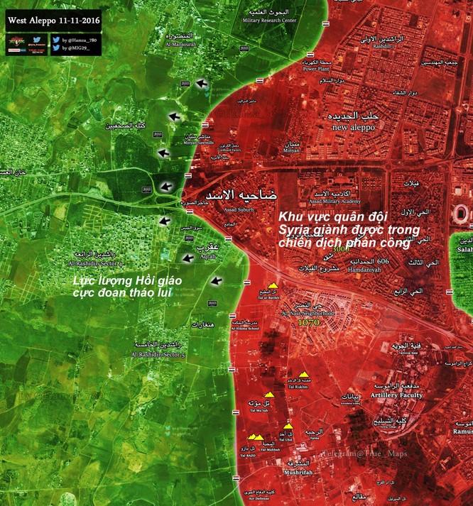 """""""Hổ Syria"""" xung trận, chiếm hầu hết các khu vực trọng yếu ở chảo lửa Aleppo ảnh 1"""