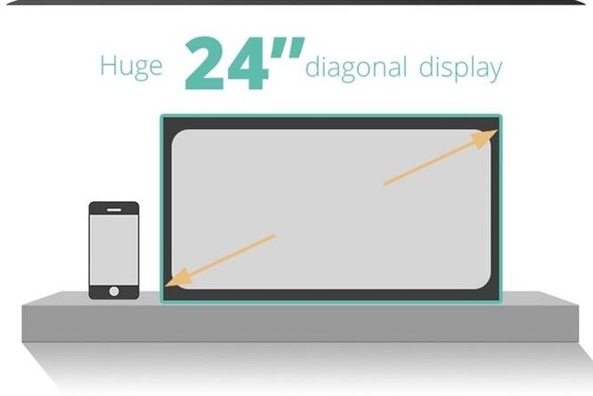 Lộ diện màn hình thông minh kỹ thuật số cực cơ động (video) ảnh 2