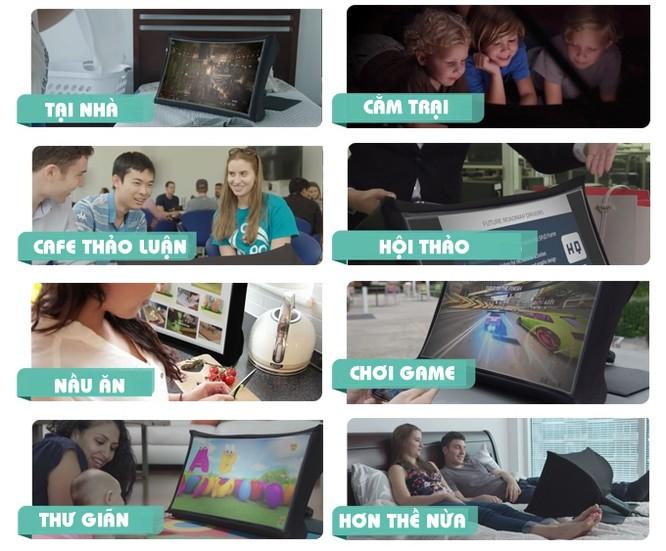 Lộ diện màn hình thông minh kỹ thuật số cực cơ động (video) ảnh 5