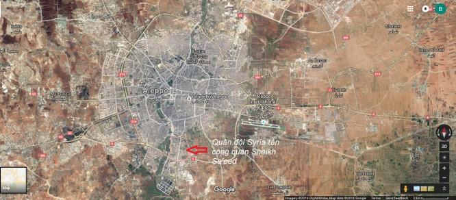Quân đội Syria tấn công quận then chốt trên hướng Tây Nam thành phố Aleppo ảnh 1
