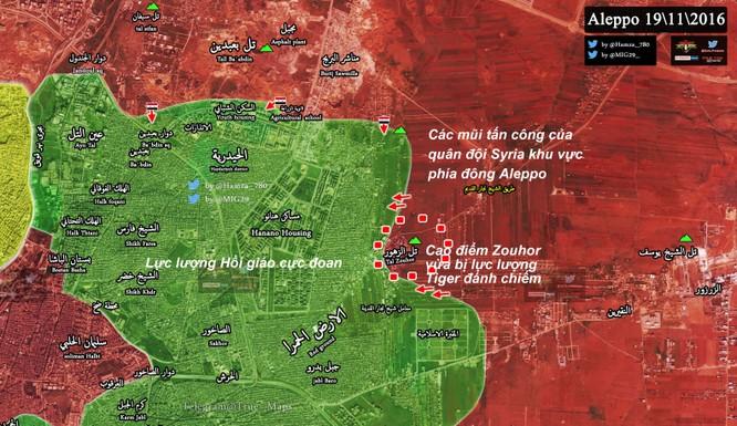 Quân đội Syria tốc chiến chiếm cao điểm then chốt khống chế đông Aleppo ảnh 1