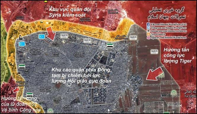Chiến sự Aleppo: Phe thánh chiến phản công lớn, quân đội Syria dồn quân tăng viện ảnh 1