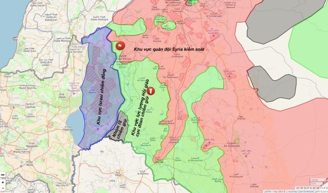 Quân đội Syria chọc thủng tuyến phòng thủ phiến quân trên cao nguyên Golan ảnh 1