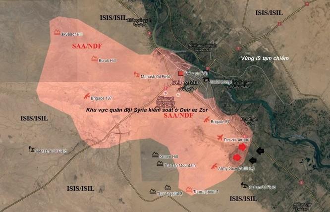 Quân đội Syria diệt 50 tay súng IS sau ngày giao tranh ác liệt ảnh 1