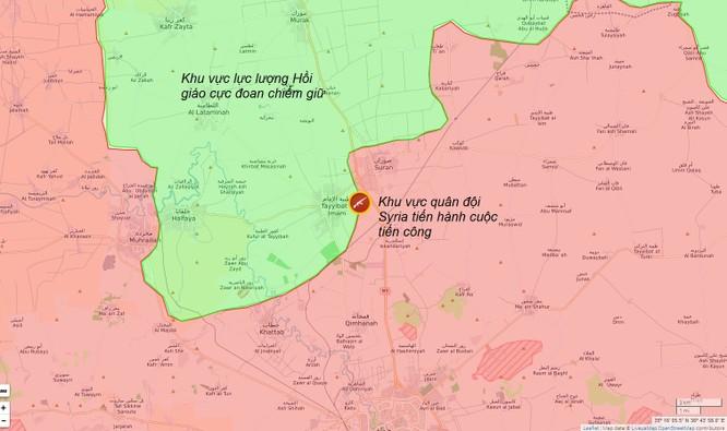 Quân đội Syria ồ ạt phản công phe thánh chiến ở Hama ảnh 1