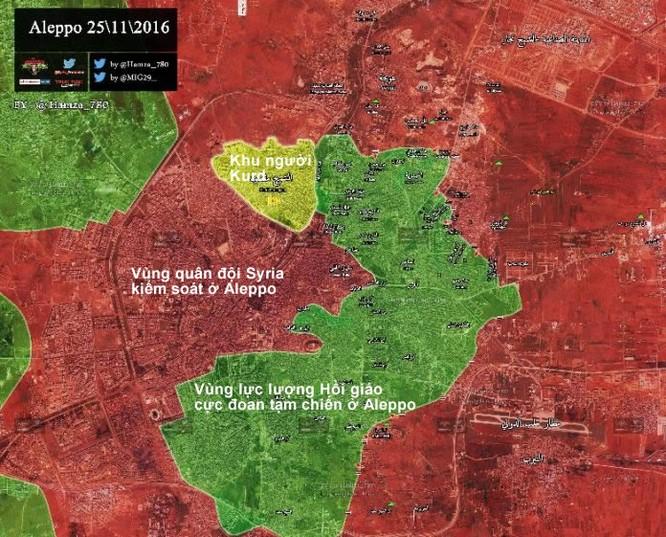 Chiến sự Aleppo: Quân đội Syria dồn binh lực nhằm kết liễu phiến quân ảnh 1
