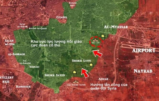 """""""Hổ Syria"""", Diều hâu sa mạc dồn dập tấn công các quận phía đông Aleppo ảnh 2"""