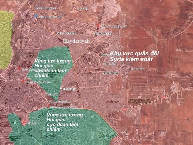 """""""Hổ Syria"""", Diều hâu sa mạc giáng đòn sấm sét vào phiến quân ở Aleppo ảnh 1"""