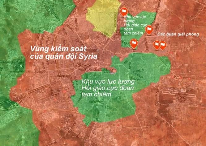 Trận Stalingrad Syria: Quân đội Syria tấn công dồn dập, giải phóng 40% đông Aleppo ảnh 2