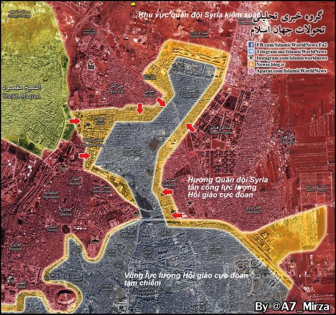 Trận Stalingrad Syria: Quân đội Syria tấn công dồn dập, giải phóng 40% đông Aleppo ảnh 1