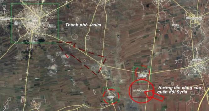 Quân đội Syria tấn công lực lượng khủng bố IS và Al-Qaeda Syria ảnh 1
