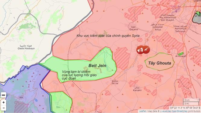 """Quân đội Syria """"dọn sạch"""" phiến quân vùng ngoại ô Damascus, dập tắt ảo vọng lật đổ (video) ảnh 1"""