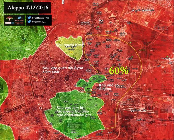 Quân đội Syria chia cắt lực lượng thánh chiến trong khu phố cổ Aleppo - VIDEO ảnh 1