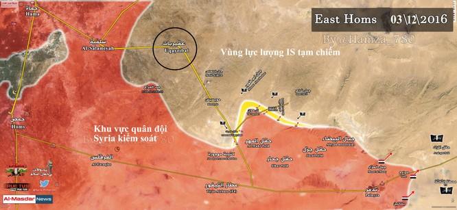 """IS có thể tiến công Homs để giảm áp lực """"thành trì"""" Raqqa ảnh 1"""