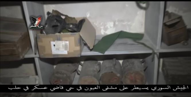 Chiến sự Aleppo: Phiến quân biến bệnh viện thành sở chỉ huy, kho vũ khí và nhà tù (video) ảnh 1