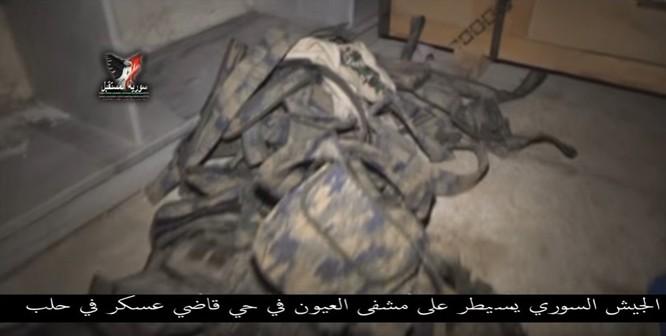Chiến sự Aleppo: Phiến quân biến bệnh viện thành sở chỉ huy, kho vũ khí và nhà tù (video) ảnh 2