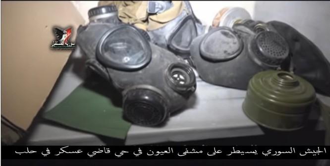 Chiến sự Aleppo: Phiến quân biến bệnh viện thành sở chỉ huy, kho vũ khí và nhà tù (video) ảnh 3