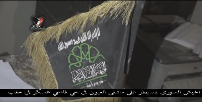 Chiến sự Aleppo: Phiến quân biến bệnh viện thành sở chỉ huy, kho vũ khí và nhà tù (video) ảnh 6