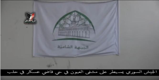 Chiến sự Aleppo: Phiến quân biến bệnh viện thành sở chỉ huy, kho vũ khí và nhà tù (video) ảnh 9