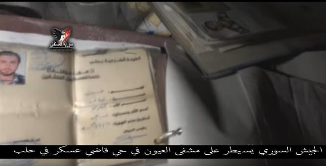 Chiến sự Aleppo: Phiến quân biến bệnh viện thành sở chỉ huy, kho vũ khí và nhà tù (video) ảnh 13